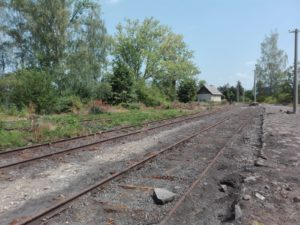 Úštěk horní nádraží
